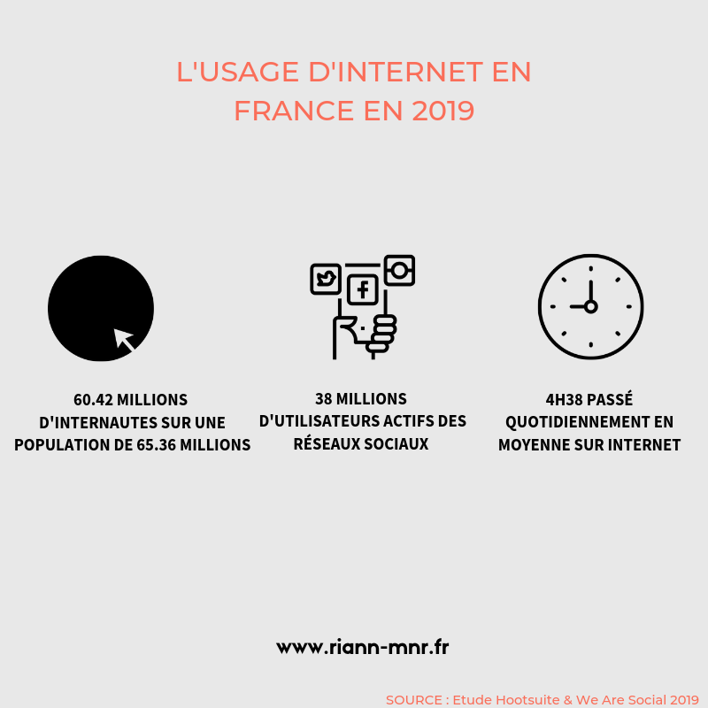 Webmarketing - Usage du web en France