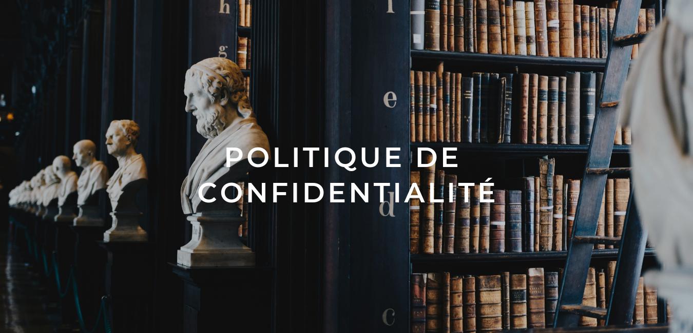 Politique de confidentialité - Riann Mnr